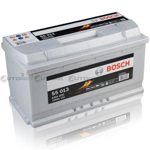 Bosch-S5013 Batteria Silver Auto 100A/h-830A Batterie per auto