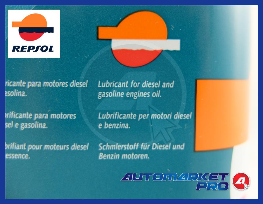 OLIO REPSOL 5W30 507.00 504.00 LONG LIFE TAGLIANDO VOLKSWAGEN VW AUDI SEAT SKODA