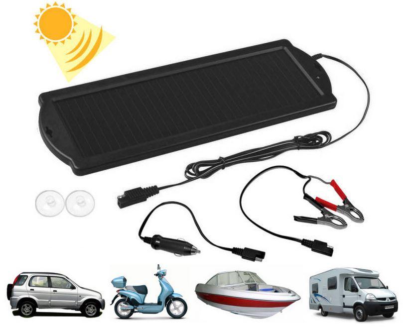 Pannello Solare Per Caricare Batteria Auto : Pannello solare w mantenitore carica batteria camper