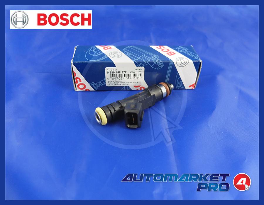 INIETTORE BOSCH 0280158827 VW GOLF IV VARIANT 2.0 2000 BI-FUEL DA 05/2002 85 KW