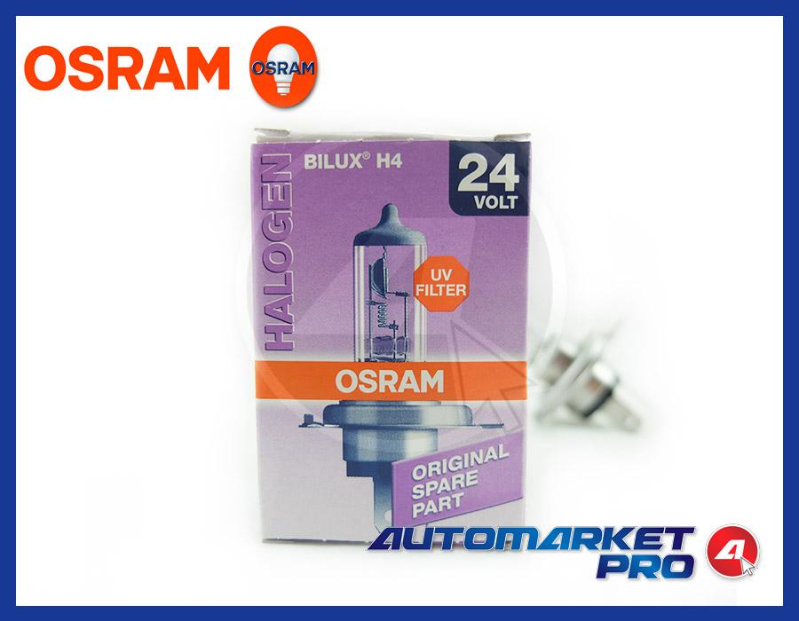 LAMPADINA H4 OSRAM 24V VOLT 64196 70/75 W PX26d LAMPADE CAMION ANTERIORE FANALE