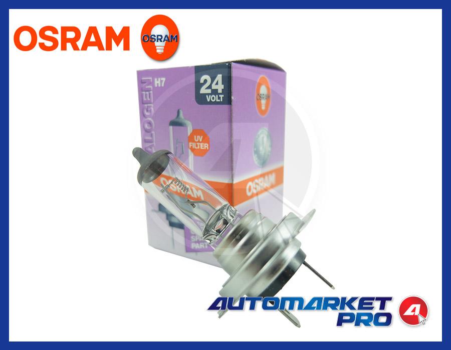 LAMPADINA H7 OSRAM 24 V VOLT 64215 70 W PX26d LAMPADA PER CAMION ANTERIORE FARO