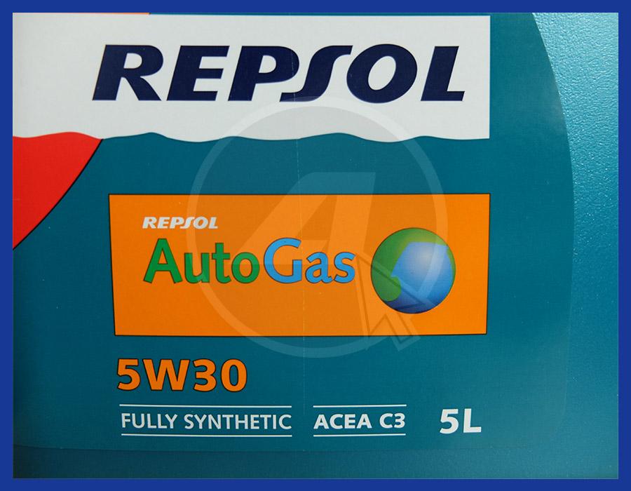 REPSOL AUTOGAS TAGLIANDO MOTORI METANO GPL GAS BIFUEL NATURAL POWER BIPOWER 5 LT