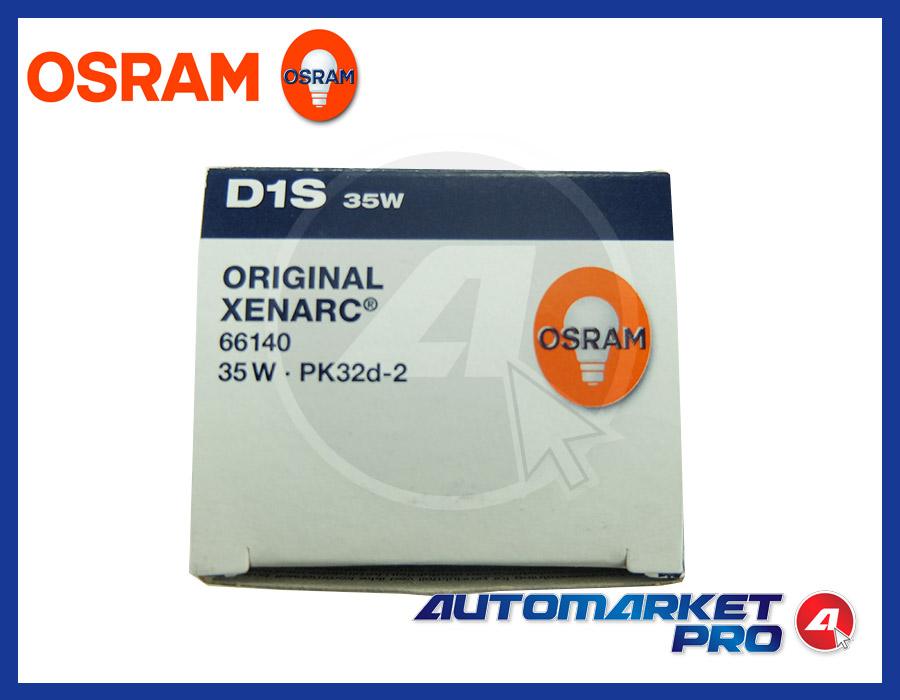 LAMPADINA D1S OSRAM XENARC ORIGINAL LAMPADA FARO XENO XENON 66140 35W PK32d-2