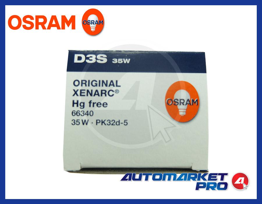 LAMPADINA D3S OSRAM XENARC ORIGINAL LAMPADA FARO XENO XENON 66340 35W PK32d-5