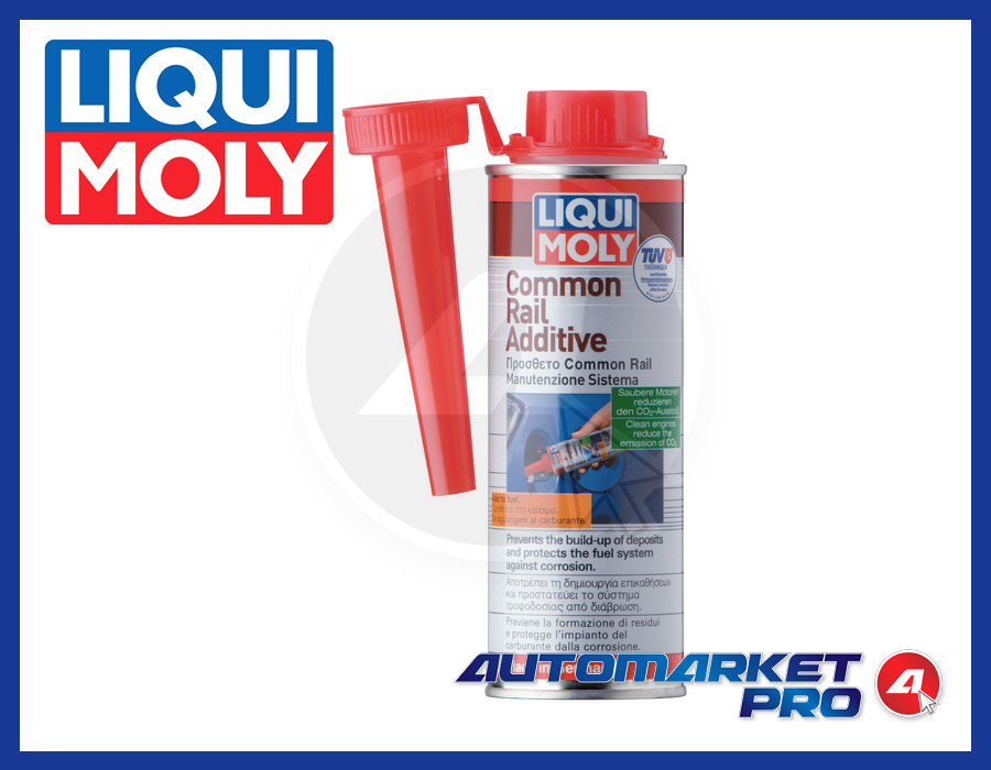 LIQUIMOLY 8953 ADDITIVO COMMON RAIL DIESEL GASOLIO ANTI USURA CORROSIONE