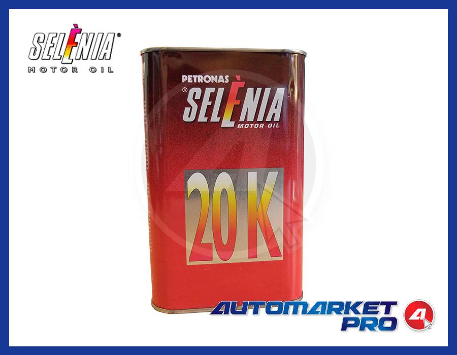OLIO MOTORE ORIGINALE SELENIA 20K 10W40 A3 VW 500.00 - 505.00 FIAT 9.55535-G2