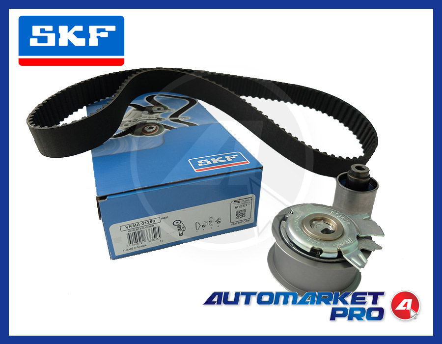 KIT CINGHIA SKF SEAT ALTEA XL 1.9 1900 TDI 66 77 KW DIESEL GALOPPINO TENDITORE